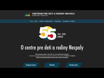 www.detskydomovnecpaly.webnode.sk