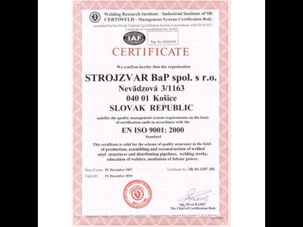 Predajňa zváračskej a zámočníckej techniky Strojzvar BaP spol. s.r.o. obr. 2